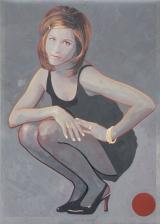 U.T. Akryl på plakat. 2007. 86x90 cm